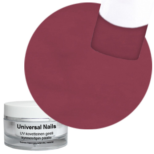 Universal Nails Paljas Ruusu UV värigeeli 10 g