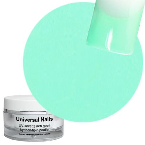 Universal Nails Minttu UV värigeeli 10 g