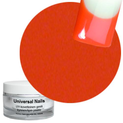 Universal Nails Oranssi UV värigeeli 10 g