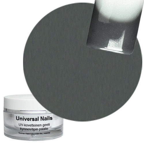 Universal Nails Harmaa UV/LED värigeeli 10 g