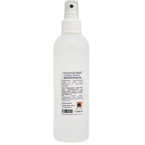 Universal Nails Pure & Simple desinfiointisuihke 250 mL