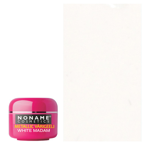 Noname Cosmetics White Madame Metallic UV geeli 5 g