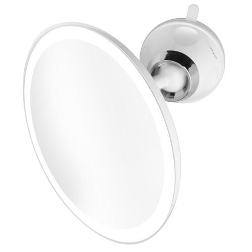 Suurentava LED-peili joustavalla varrella ja imukupilla Mizoom InnovaGoods
