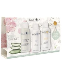 Byotea Beauty Must Have Face Care Kit pakkaus 3 x 75 mL