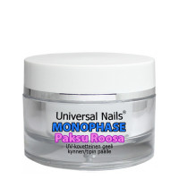 Universal Nails Paksu Roosa Monophase UV/LED geeli 10 g