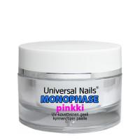 Universal Nails Pinkki Monophase UV / LED geeli 10 g