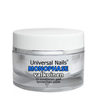 Universal Nails Valkoinen Monophase UV / LED geeli 10 g