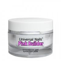 Universal Nails Pinkki UV/LED rakennusgeeli 10 g