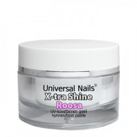 Universal Nails Roosa X-tra Shine UV/LED päällysgeeli 10 g