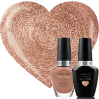 Cuccio Veneer Rose Gold Slippers Match Makers geelilakkasetti 2 x 13 mL