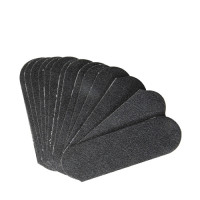 Cuccio Hiomapaperit Jalkaraspiin 80 Grit musta 50 kpl