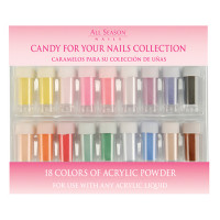 Star Nail Candy for Your Nails akryylipuuteri lajitelma 18 kpl