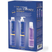 Inebrya Ice Cream Age Therapy Pro-Blonde Kit hoitopakkaus