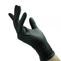 Unigloves Black Pearl Nitriilikäsineet S 100 kpl