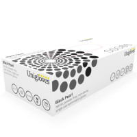 Unigloves Black Pearl Nitriilikäsineet XS 100 kpl