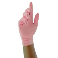 Unigloves Pink Pearl Nitriilikäsineet L 100 kpl