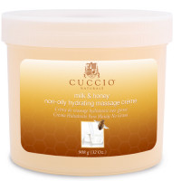 Cuccio Naturalé Massage Cream Milk & Honey hierontavoide 750 g