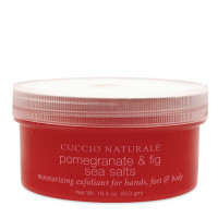 Cuccio Naturalé Sea Salts Pomegranate & Fig karkea merisuolakuorinta  553 g