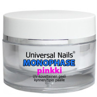 Universal Nails Pinkki Monophase UV / LED geeli 30 g