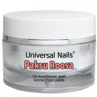 Universal Nails Paksu Roosa UV/LED rakennusgeeli 30 g