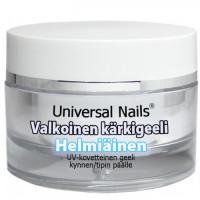 Universal Nails Valkoinen Helmiäinen UV kärkigeeli 30 g