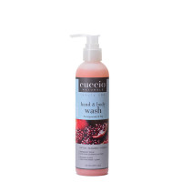 Cuccio Naturalé Pomegranate & Fig Hands & Body Wash kuoriva käsi- ja vartalosaippua 240 mL