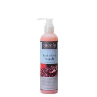 Cuccio Naturalé Pomegranate & Fig Hands & Body Wash kuoriva käsi- ja vartalosaippua 240 mL