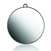 Xanitalia Circle käsipeili musta Ø 29 cm