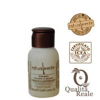 Naturalmente Fennel & Geranium kosteuttava shampoo mini 50 mL