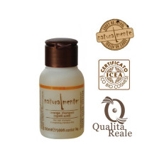 Naturalmente Orange shampoo hennoille hiuksille mini 50 mL