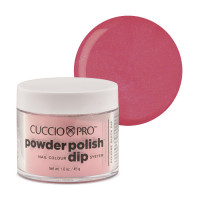 Cuccio Rose Shimmer Powder Polish dippipuuteri 45 g