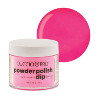 Cuccio Bright Neon Pink Dip Powder Polish dippipuuteri 45 g