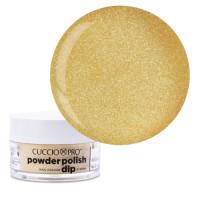 Cuccio Metallic Lemon Gold Dip Powder Polish dippipuuteri 14 g