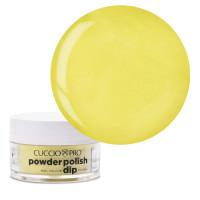 Cuccio Bright Neon Yellow Dip Powder Polish dippipuuteri 14 g