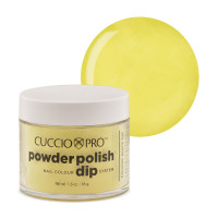 Cuccio Bright Neon Yellow Powder Polish dippipuuteri 45 g