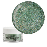 Cuccio Emerald Green Mica Dip Powder Polish dippipuuteri 14 g