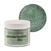 Cuccio Emerald Green Mica Dip Powder Polish dippipuuteri 45 g