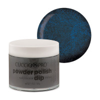 Cuccio Blue Black Powder Polish dippipuuteri 45 g