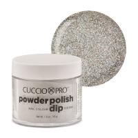 Cuccio Silver Rainbow Mica Dip Powder Polish dippipuuteri 45 g