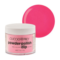 Cuccio Bright Pink Powder Polish dippipuuteri 45 g