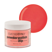Cuccio Peach Dip Powder Polish dippipuuteri 45 g