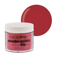 Cuccio Candy Apple Red Powder Polish dippipuuteri 45 g