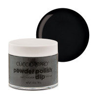 Cuccio Midnight Black Dip Powder Polish dippipuuteri 45 g