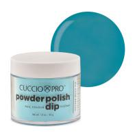Cuccio Caribbean Sky Blue Dip Powder Polish dippipuuteri 45 g