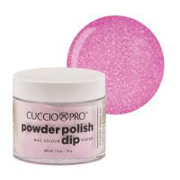 Cuccio Baby Pink Glitter Powder Polish dippipuuteri 45 g