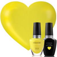 Cuccio Veneer Lemon Drop Me A Line Match Makers geelilakkasetti 2 x 13 mL