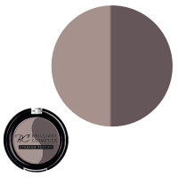 Brilliant Cosmetics Twilight Medium 02 Eyebrow Powder kulmaväri