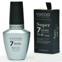 Cuccio  7 Second Top Coat päällyslakka 13 mL