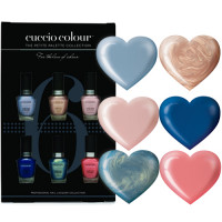Cuccio Colour Cruise mini kynsilakkakokoelma 6 x 3,5 mL