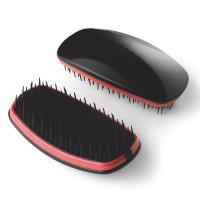 Noname Cosmetics Musta/Pinkki Detangler Soft selvitysharja